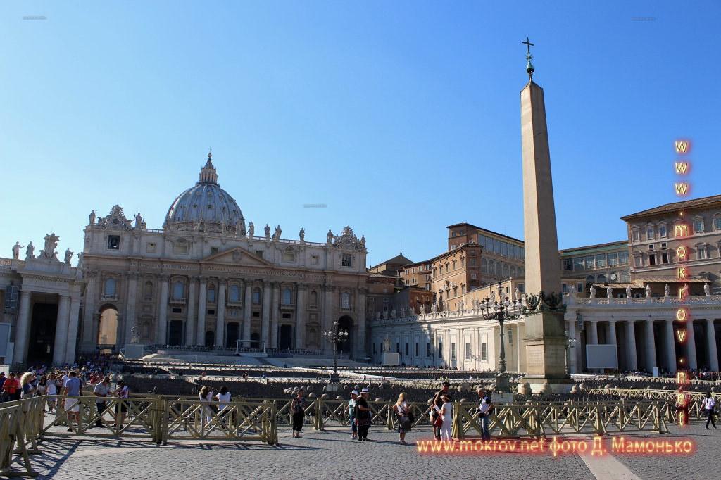 Государство — город Ватикан фото сделанные как днем, так и вечером