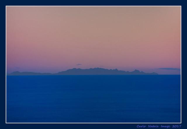 Corsica Island from San Bernardo