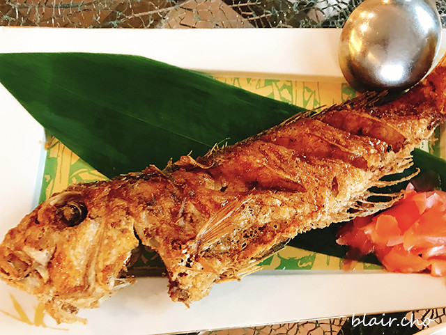 香烤馬頭魚