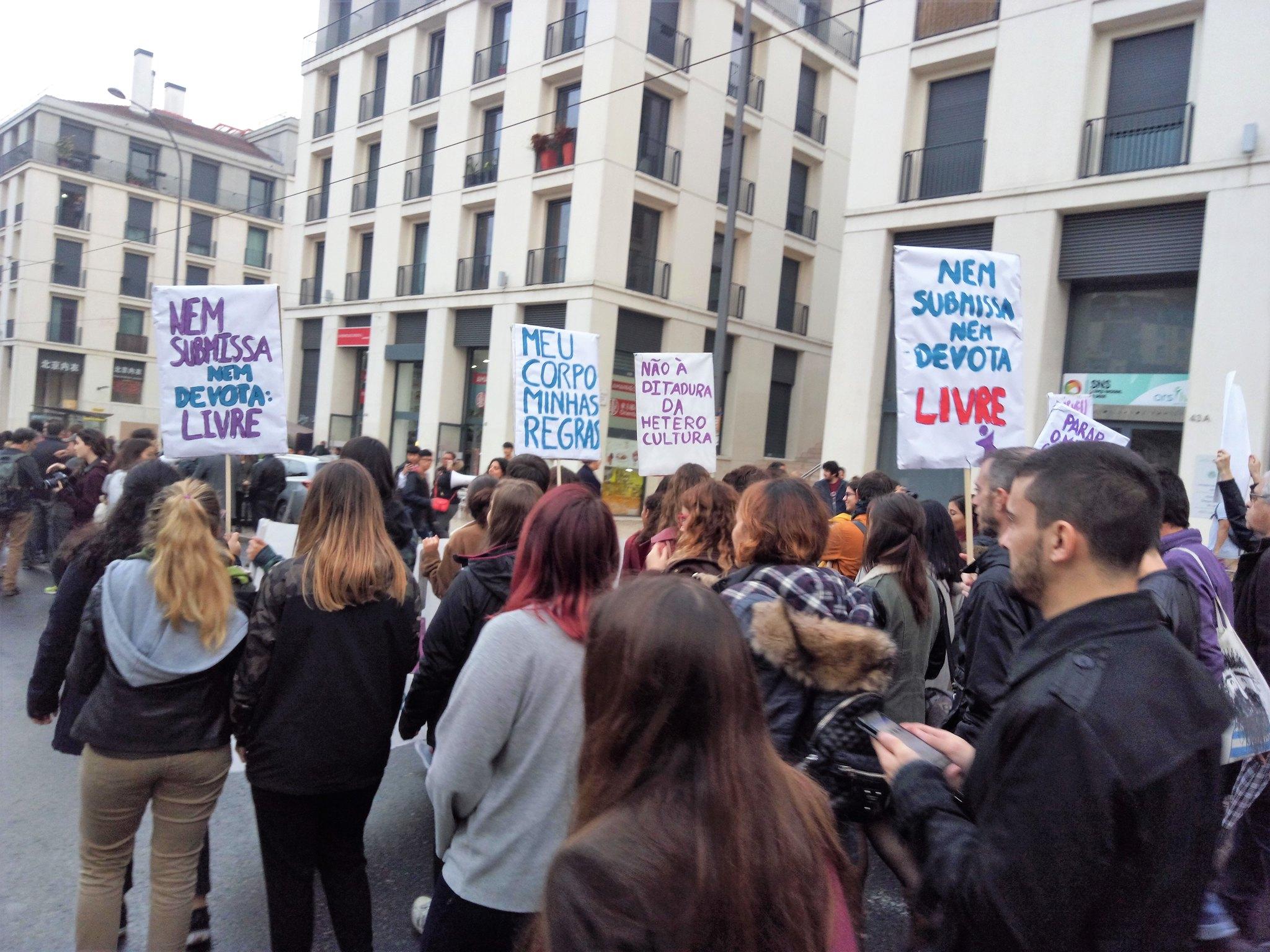 Manifestación Lisboa