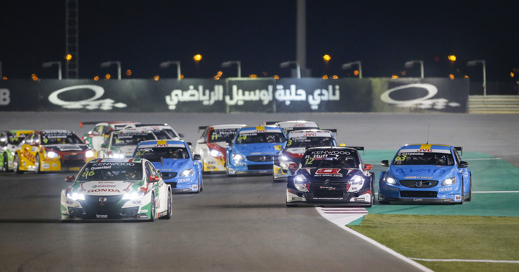 start race 2 during the 2017 FIA WTCC World Touring Car Championship race at Losail  from November 29 to december 01, Qatar - Photo Francois Flamand / DPPI