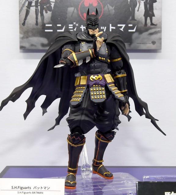 蝙蝠俠 X 日本戰國時代!S.H.Figuarts《忍者蝙蝠俠》試作樣品 情報公開! ニンジャバットマン バットマン