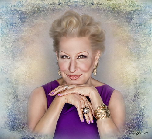 Bette Midler 72 today texture