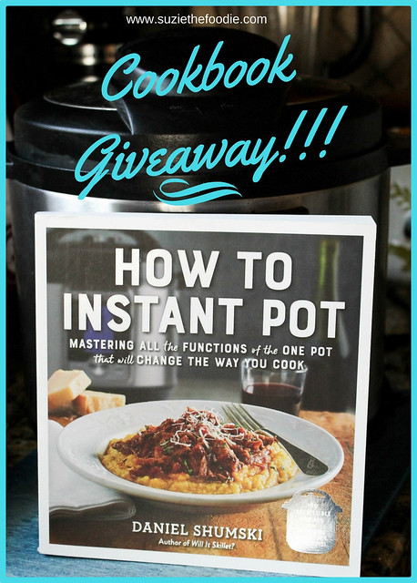 How to Instant Pot Cookbook by Daniel Shumski Giveaway!