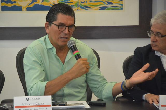 Rueda de prensa Barranquilla