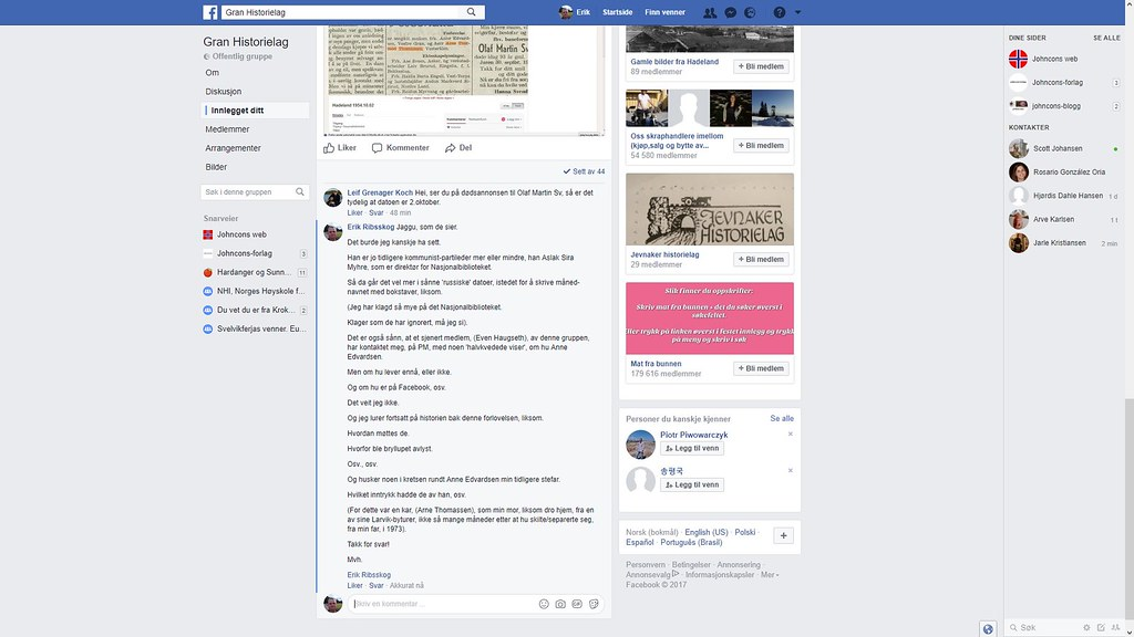 gran historelag facebook