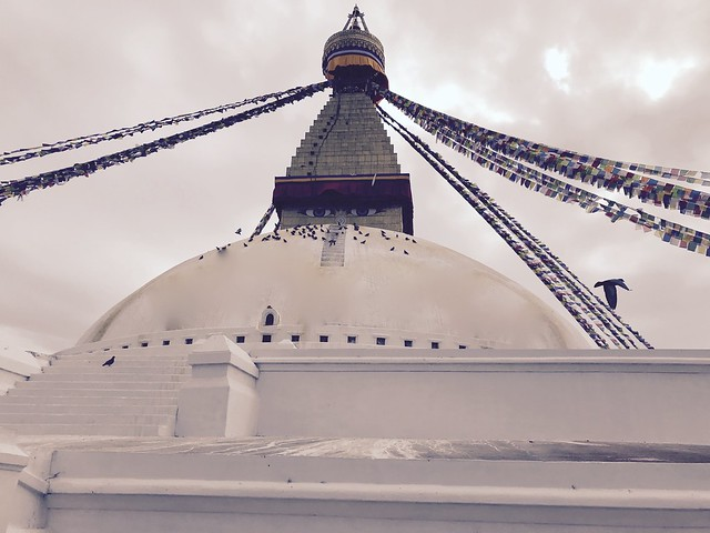 Boudhanath Stupa, Kathmandu, Nepal