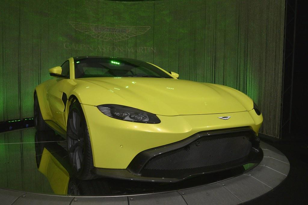 Aston Martin Vantage live photos: 2017 LA Auto Show