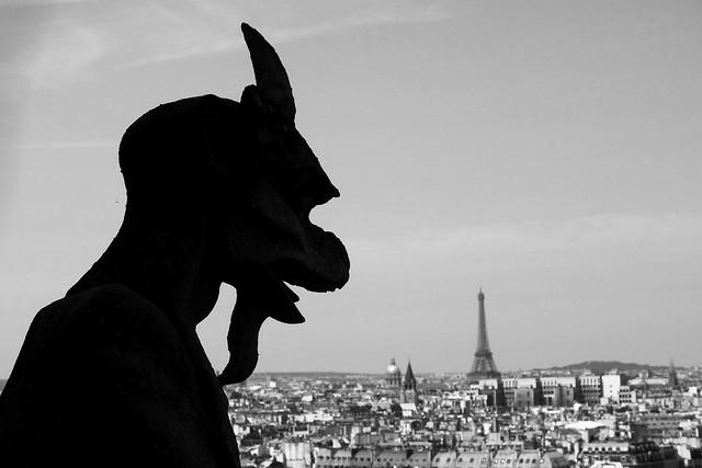 Looking at Paris