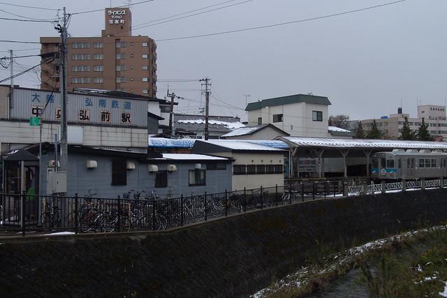 カメラ・ブラケティング 弘南鉄道 F828 v.s. RX100