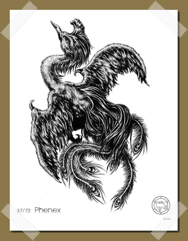 Phoenix- Demon and Spirit of Solomon