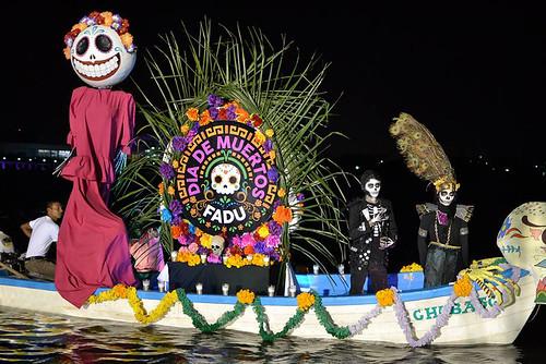 FADU presente en la muestra de altares Flotantes Tampico 2017