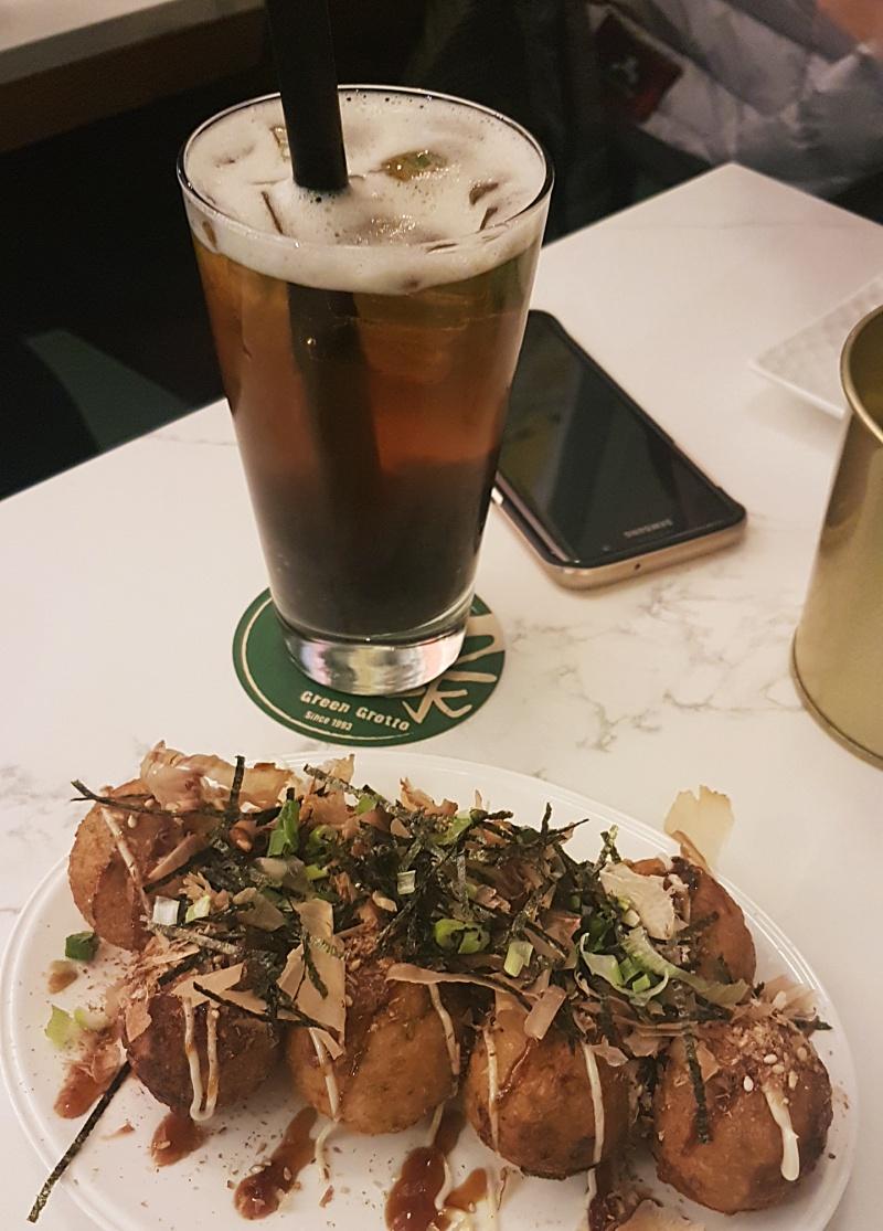 Green Grotto takoyaki