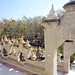 Pha kung Temple is located in Pha kung village,  in Januaray 2014,  Srisomdet District, Roi-Et Province. Thailand.
