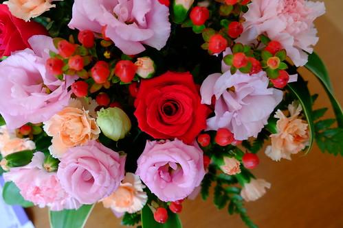 結婚記念日の薔薇