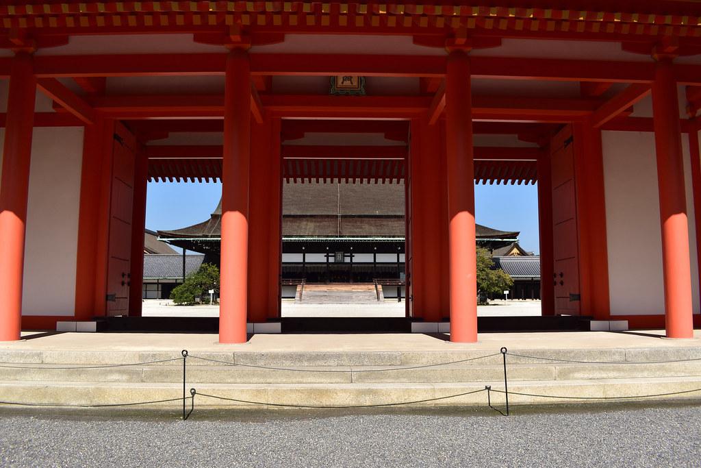 京都御所 承明門