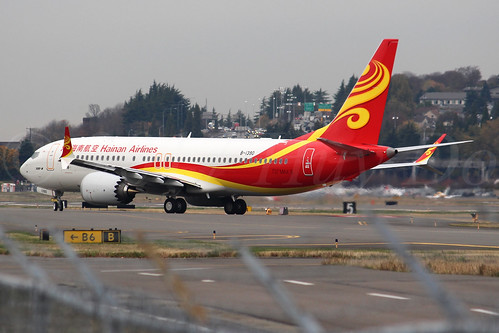 Boeing 737 MAX 8 Hainan Airlines B-1390 LN6616