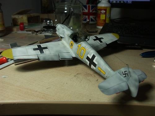 Bf109G-2 eduard au 1/48 par Charlymic