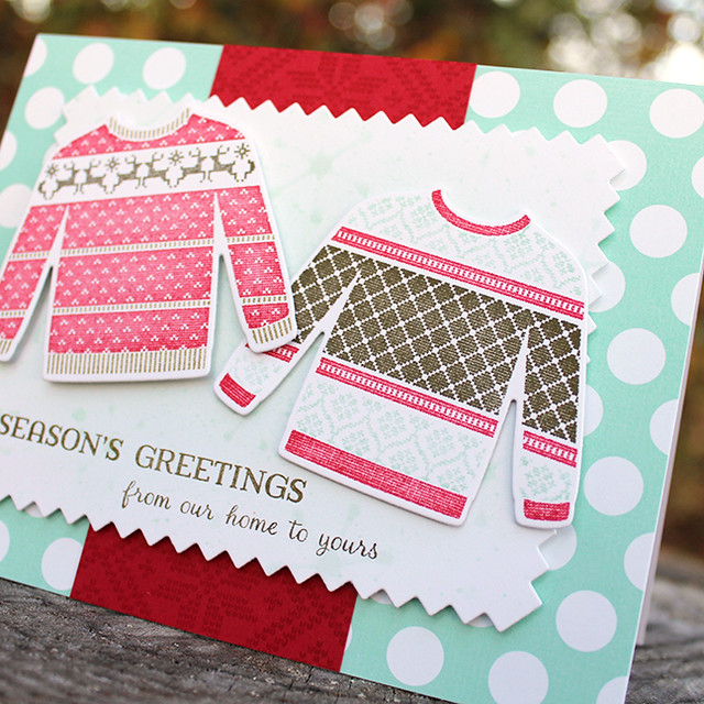 Season's Greetings Sweaters Card 2