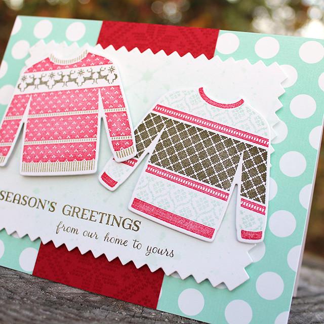 Season's Greetings Sweaters Card 2