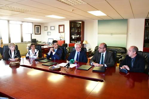 Convenio UNED, AENOR y UNE (13/11/17)