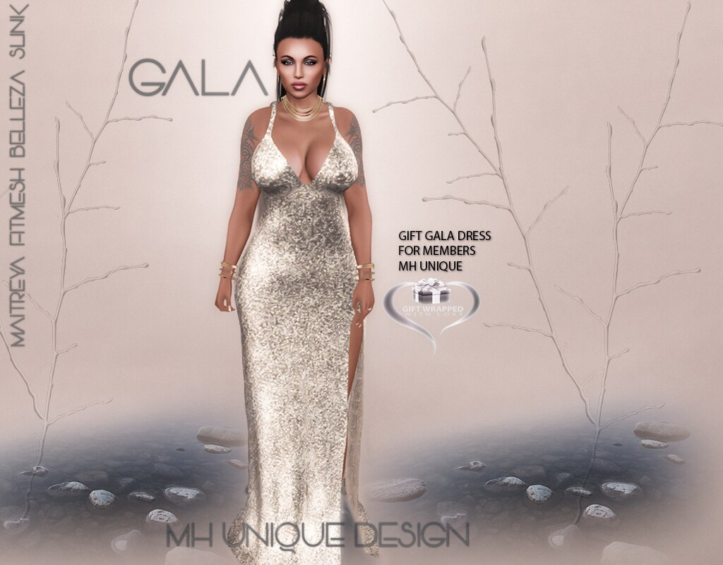 MH-GIFT GALA Dress November  2017 - TeleportHub.com Live!