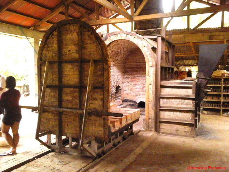 Huge brick oven