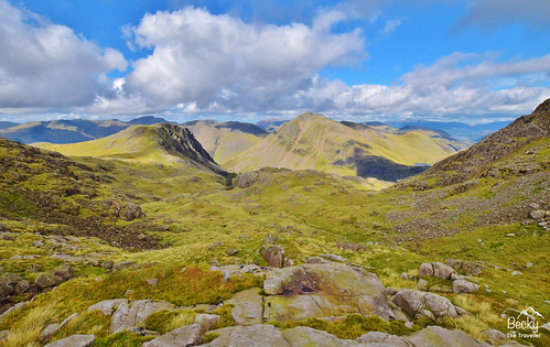 Hiking UK - a day hike at Scafell Pike - Lake District National Park, UK