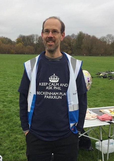 Beckenham Place parkrun First Birthday