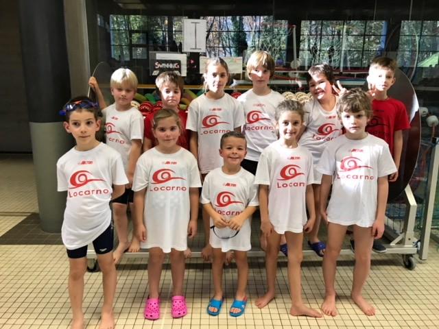 Nuoto: Kids Preliminare 18.11.17 - Trevano