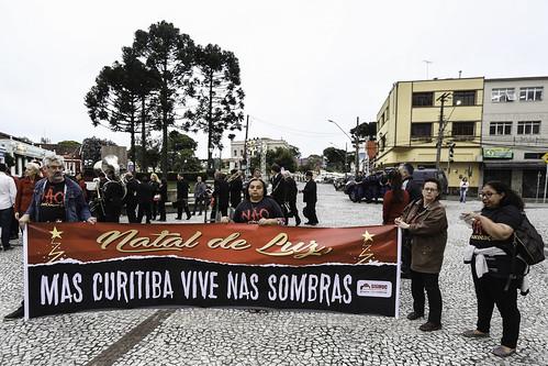 Natal Sem Luz | Curitiba vive nas sombras