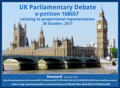 UK Parliament PR Debate