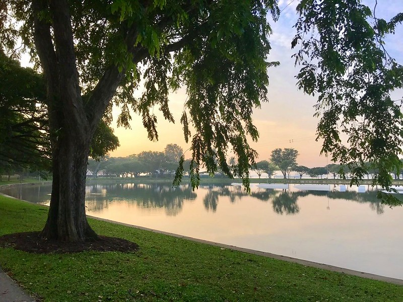 Lagoon at East Coast Park