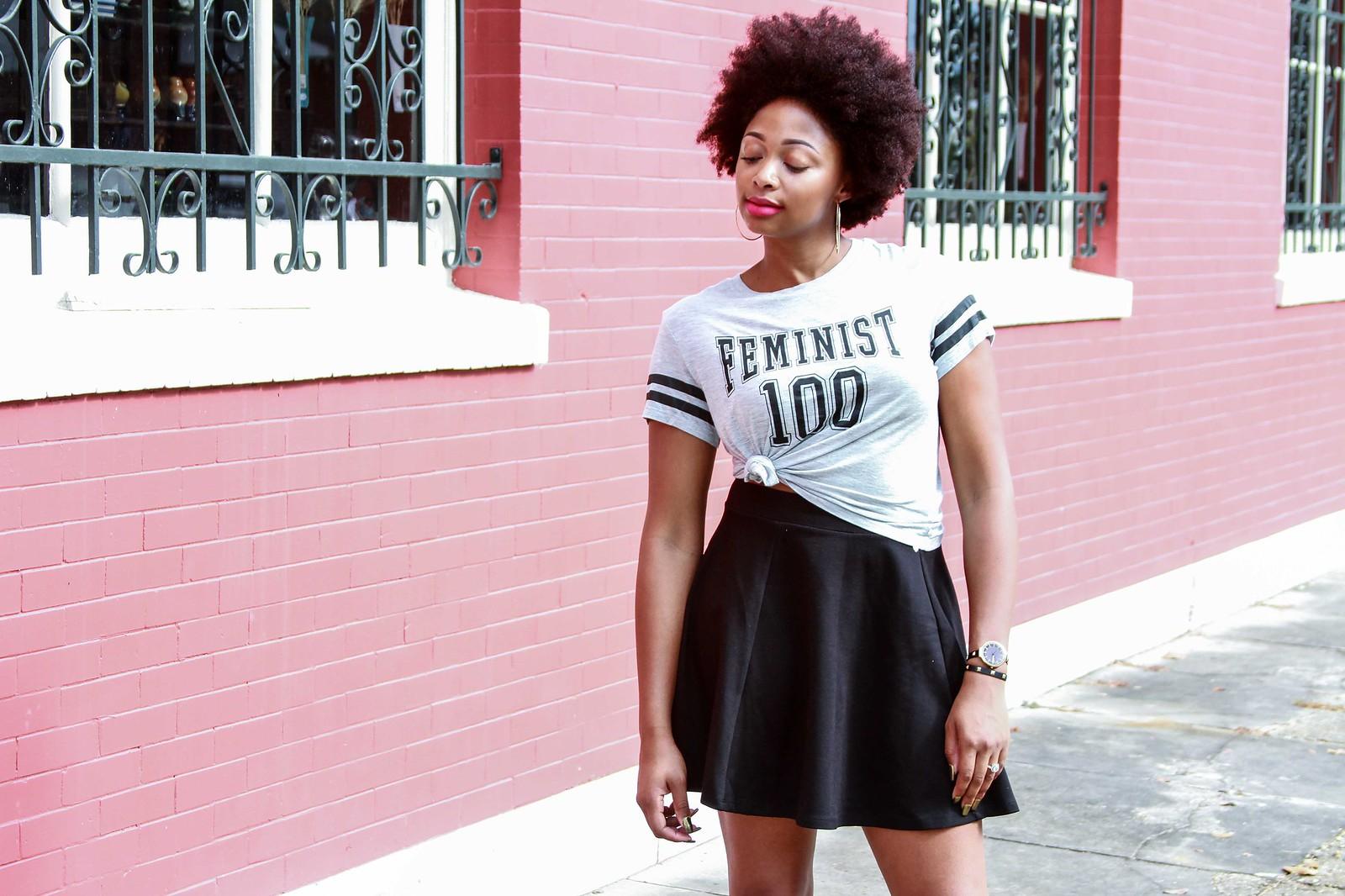 natural hair style blogger, Dallas fashion blogger