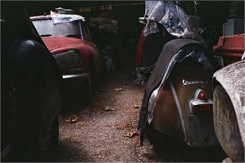 Citroën DS23-1972-Vespa SS