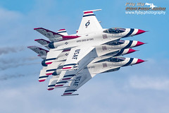 Thunderbirds In Echelon