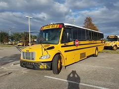 4678 - 2008 Thomas Saf-T-Liner C2 - Hillsborough County School Bus