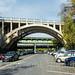 Henry Hudson Parkway Bridges and Amtrak Railroad Bridge over Dyckman Street, Inwood, New York City
