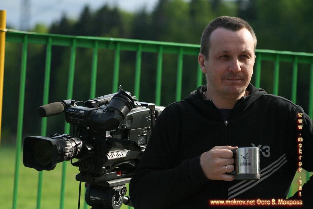 Сергей Вальцов и фотограф