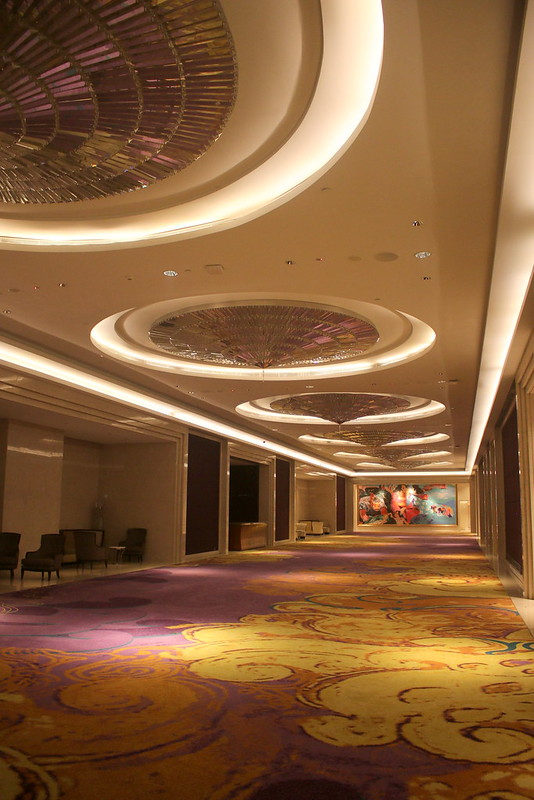 The ballroom and convention centre is of epic proportions