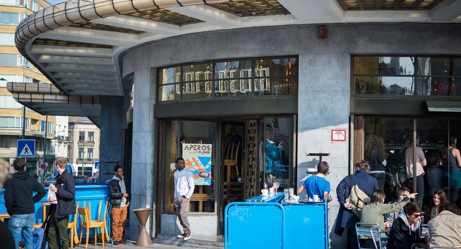 Café Belga, Brussel (foto: Peter Vermaercke) | Mooistestedentrips.nl