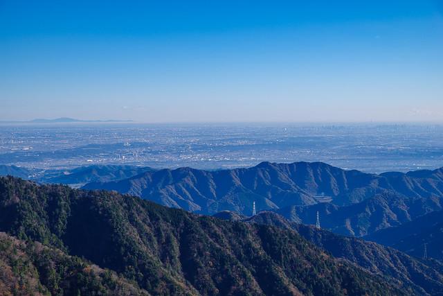 筑波山とスカイツリー
