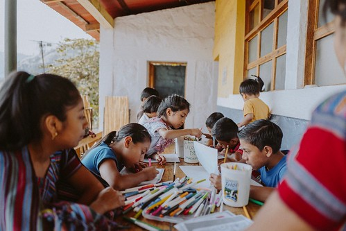 The Children's Enrichment Program at the Konojel Community Center provides an opportunity for social and cognitive development, one approach that Konojel takes to help end the cycle of poverty and malnutrition in the community. Photo by Joshua Lawrence.
