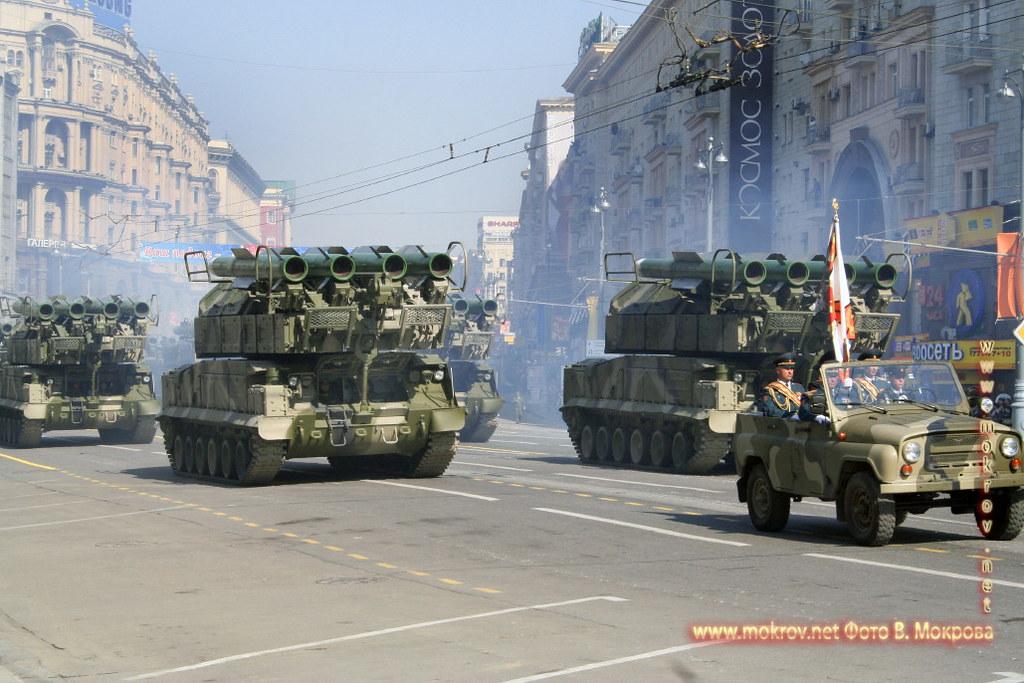 Военный парад 9 мая 2008 г. в Москве — Россия фотозарисовки