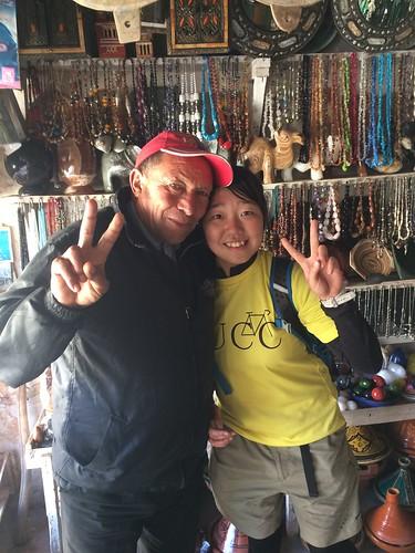 神田はモロッコ人男性に人気があるようだ