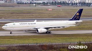 Saudia A330-343 msn 1834