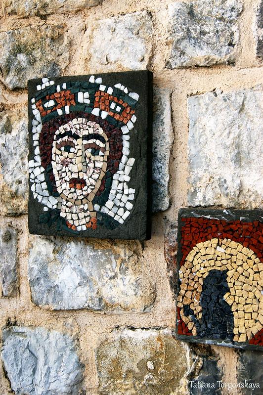 Работы учеников Летней школы мозаик