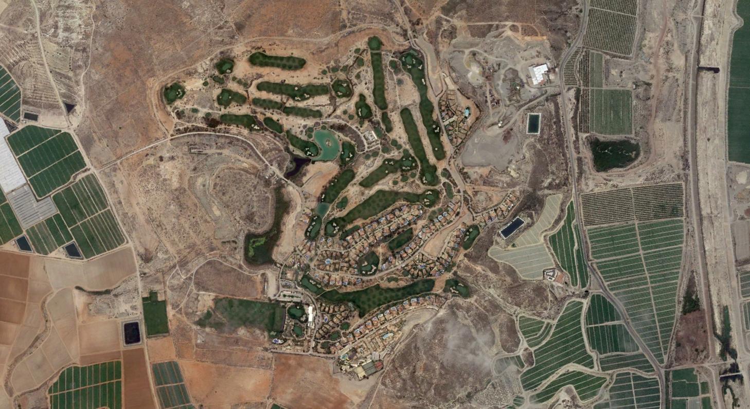 desert springs, almería, como california, después, urbanismo, planeamiento, urbano, desastre, urbanístico, construcción, rotondas, carretera