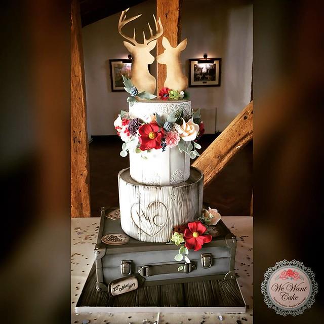 Cake by we want cake - emma procopiou bespoke cakes and cupcakes