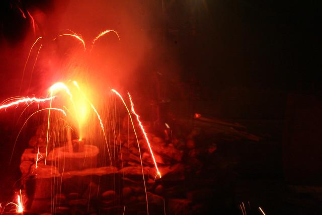 Red Firework